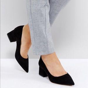 Wide size block heel chic